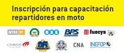 Programa de Capacitación - Trabajadores Repartidores en moto