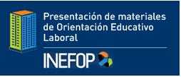 Presentación – Materiales de Orientación educativo laboral