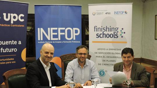 INEFOP firmó convenio para capacitar en inglés y mejorar condiciones de empleabilidad