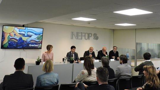 INEFOP firmó acuerdo con empresa finlandesa EduExcellence por formación en industria de procesos