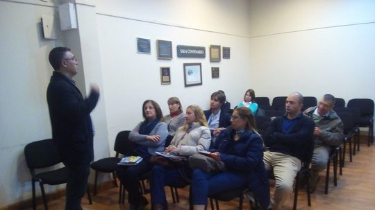 INEFOP brindó taller de sensibilización sobre acoso sexual laboral a empresas de San José