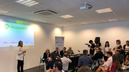 INEFOP participó de la presentación del Programa Proexport+