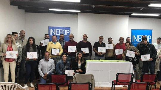 Más de 200 certificados fueron entregados en Rocha