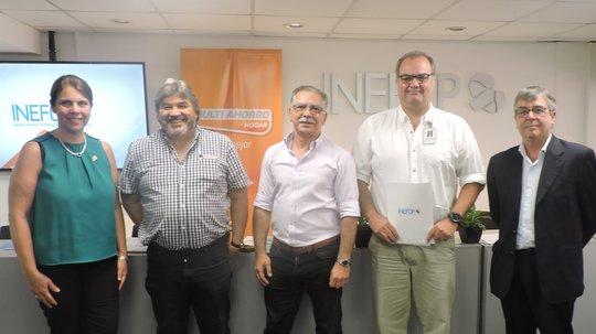 Plan Recambio: INEFOP y Grupo TATA acuerdan proyecto de capacitación para reciclar electrodomésticos