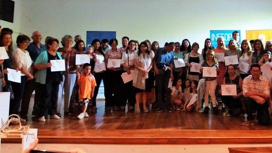 INEFOP entrega 200 certificados a trabajadores de los sectores Transporte, Turismo y Administración, en Paysandú