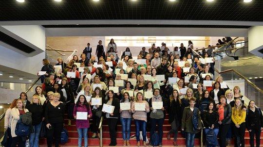 Se entregaron certificados a más de 300 personas en el marco del convenio con el Sistema de Cuidados