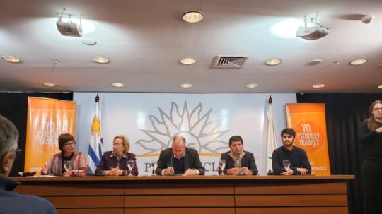 """INEFOP acompañó el lanzamiento de una nueva edición del Programa """"Yo Estudio y Trabajo"""""""