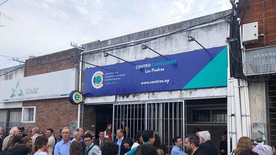Se inauguró nuevo Centro de Competitividad Empresarial en Las Piedras