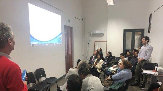 Se realizó taller sobre políticas públicas de empleo y formación dirigida a ciudadanos colombianos en Uruguay